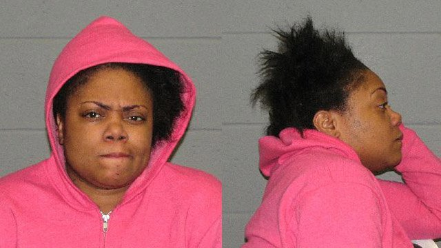 Trena Grant was arrested for throwing hot coffee in a cop's face, police said. (Waterbury police photo)