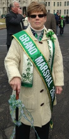 Grand Marshal Beverly Concannon.