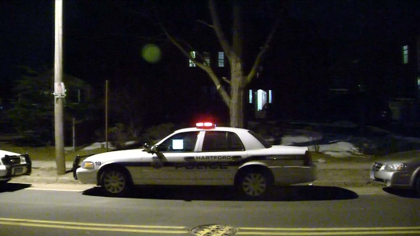 A large police presence Sunday was outside of the residence that once belonged to 'Doc' Hurley. (WFSB photo)
