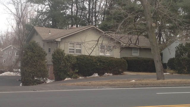 Phi Delta Theta on Albany Avenue in West Hartford was not sanctioned by UHart, the university said. (WFSB photo)