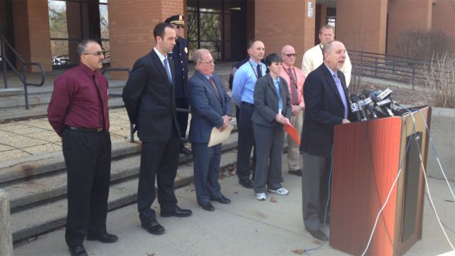 Shelton school officials and police held a press conference to discuss Kristjan Ndoj's death and the investigation.