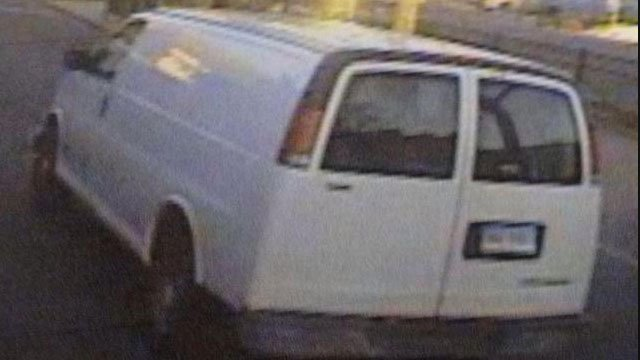 Police said this picture of the actual 1999 Chevrolet Express that they believe was involved in the crash.