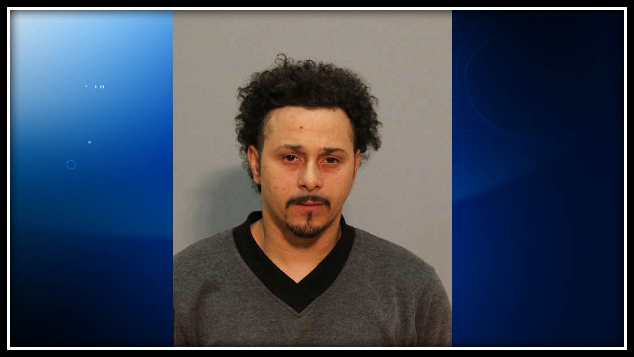 Ramon Gomez was arrested for trying to set a woman on fire, police said. (Vernon police photo)