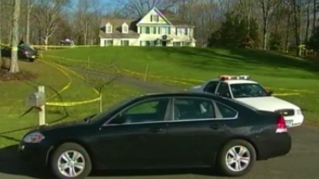 Some Newtown residents want the shooter's home torn down. (WFSB photo)