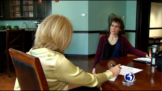 Kristen Rich told Eyewitness News she was fired for trying to unionize. (WFSB photo)