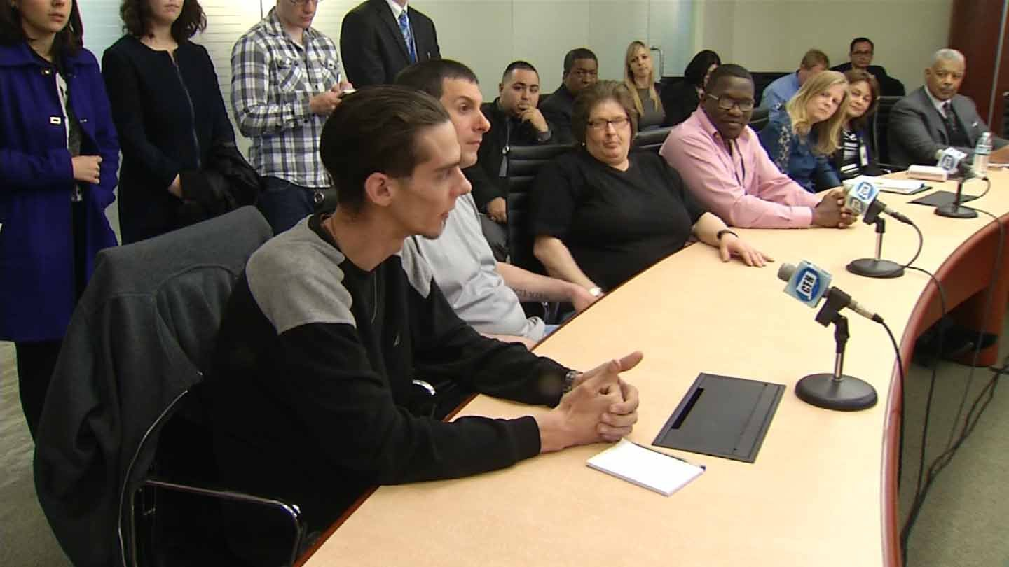 Lawmakers held a forum Thursday in New Haven to address a 'heroin epidemic.' (WFSB photo)