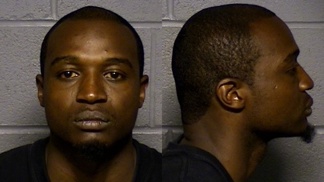 Marcus Rooks was arrested in connection with an infant's injuries. (Hartford police photo)