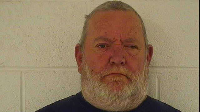 Police said Arthur Gauvin locked his sister in a room for several years. (Seymour police photo)