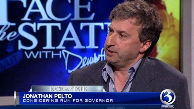 Jonathan Pelto appears on Face the State on Sunday.