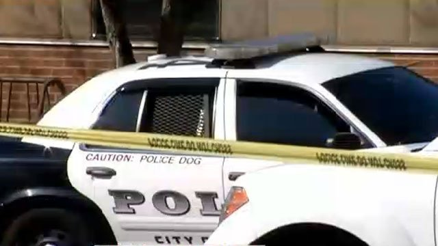 Jonathan Law High School in Milford was deemed a crime scene after the fatal stabbing on Friday.