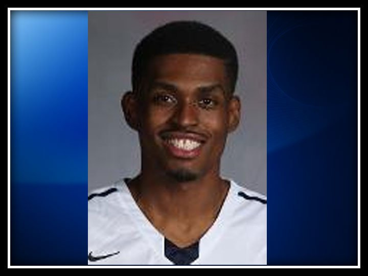 The following photo of Brandon Sherrod was provided by the Yale University Athletics website.