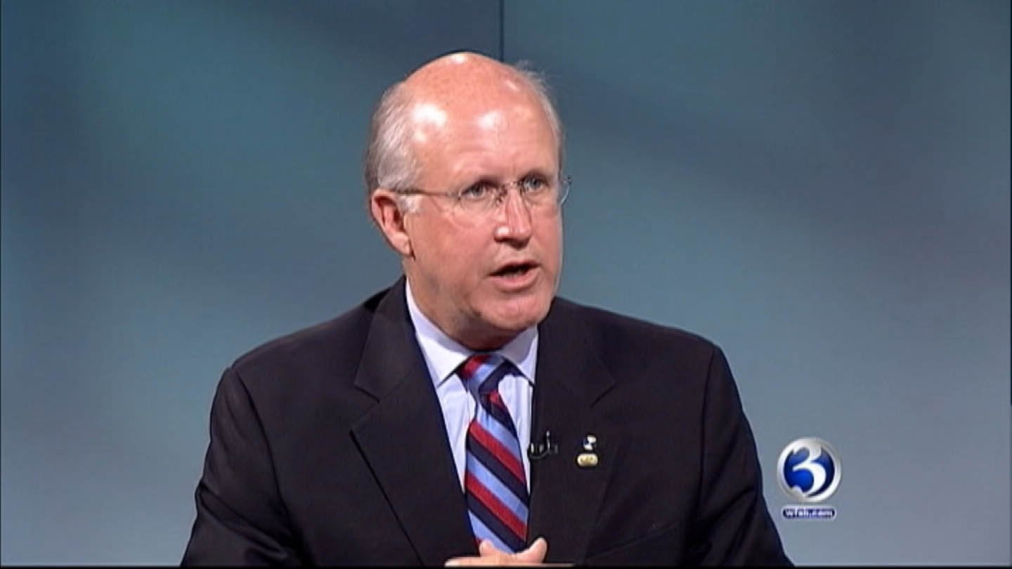 David Walker claims he's under fire for comments he did not make. (WFSB photo)