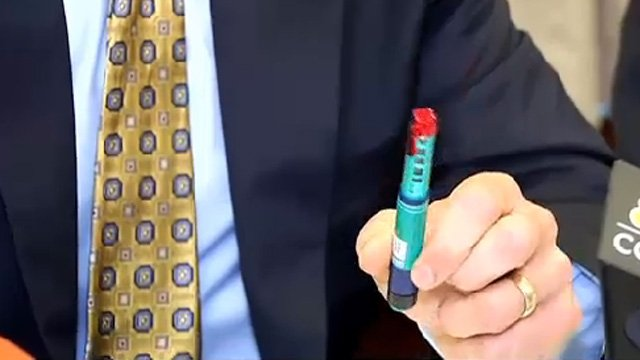 The insulin pens may have been used on multiple patients, officials said. (WFSB photo)