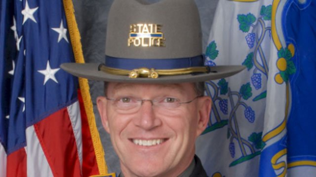The following photo of Colonel Daniel Stebbins was provided by the Connecticut State Police.