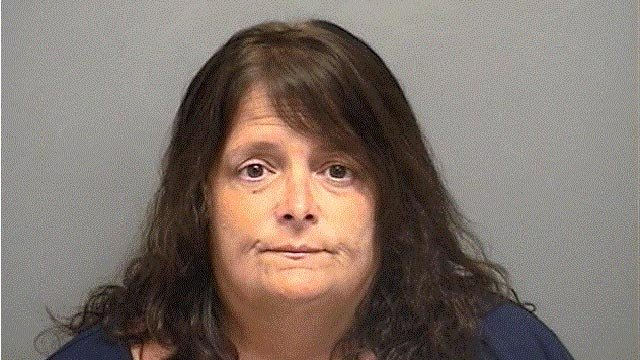 Cynthia Tanner was accused of embezzling $830,000 from a veterans fund. (Darien police photo)