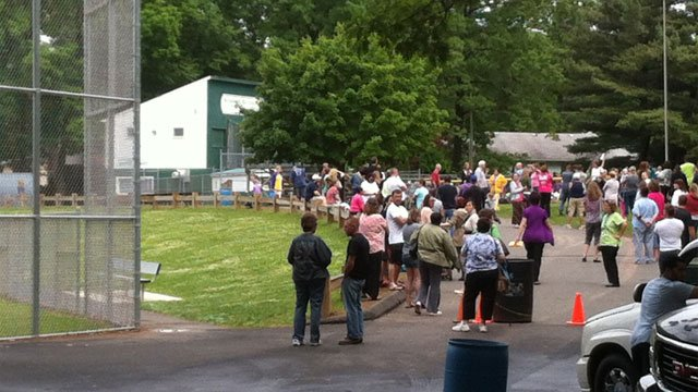 Students at Greene Hills School in Bristol were also evacuated.