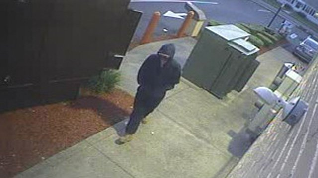 Police released surveillance photos of the robbery suspect. (Manchester police photo)