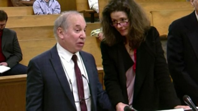Paul Simon and Edie Brickell were back in court on Tuesday. (WFSB file photo)