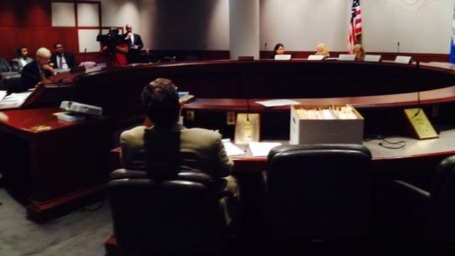 Dr. Rashmi Patel's hearing began at 9 a.m. (WFSB photo)