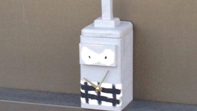 This was the suspicious package discovered near a Metro-North station on Friday. (Fairfield police photo)