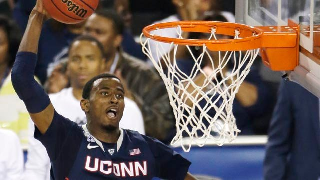 Former UConn forward DeAndre Daniels was drafted by the Toronto Raptors. (AP photo)