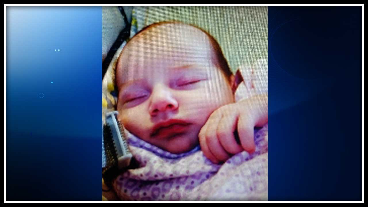 """Shiloh Gilbert-Alfar was described as 24"""" long and 7 pounds. (State police photo)"""