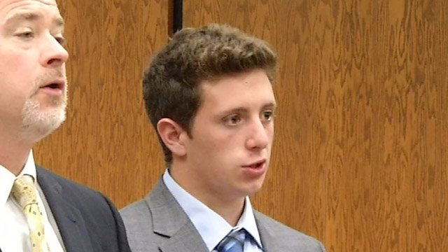 Eric Morelli was in court briefly Monday morning. (WFSB photo)