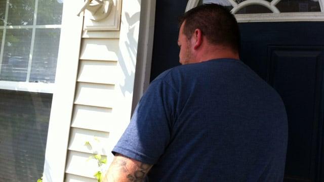Victim Kevin Dennis spoke with Eyewitness News. (WFSB photo)
