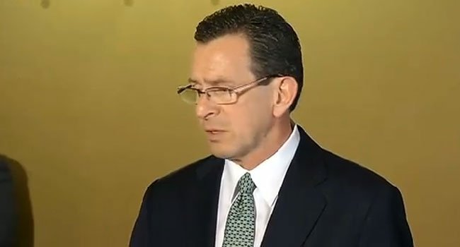 Gov. Dannel P. Malloy (WFSB File Photo)
