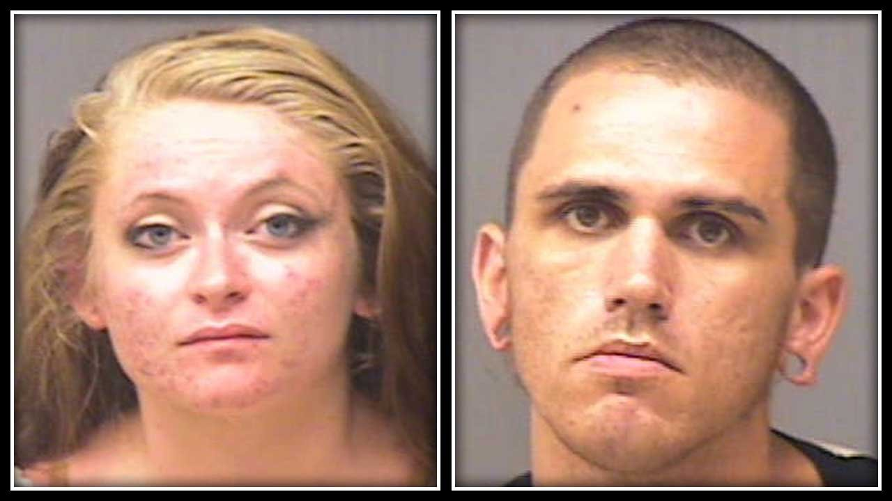 Alexis Chidester (left) and Thomas Birkbeck Jr. (right) were scheduled to be arraigned. (Norwich police photo)