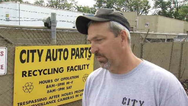 Jeff Angell of City Auto Parts and Scrap Metal Recycling