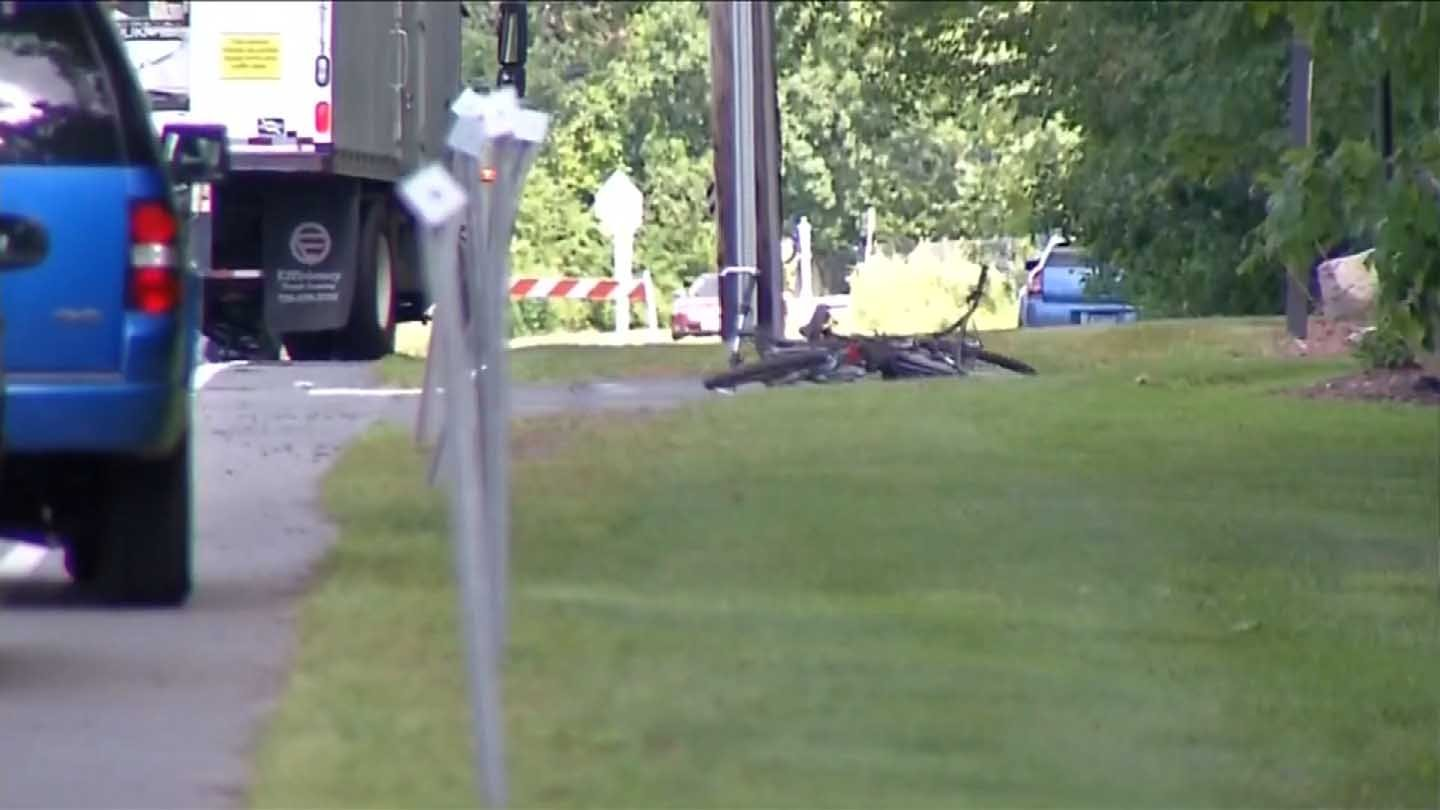 Francis Anthony Alamo was killed Thursday after being struck by a box truck. (WFSB photo)