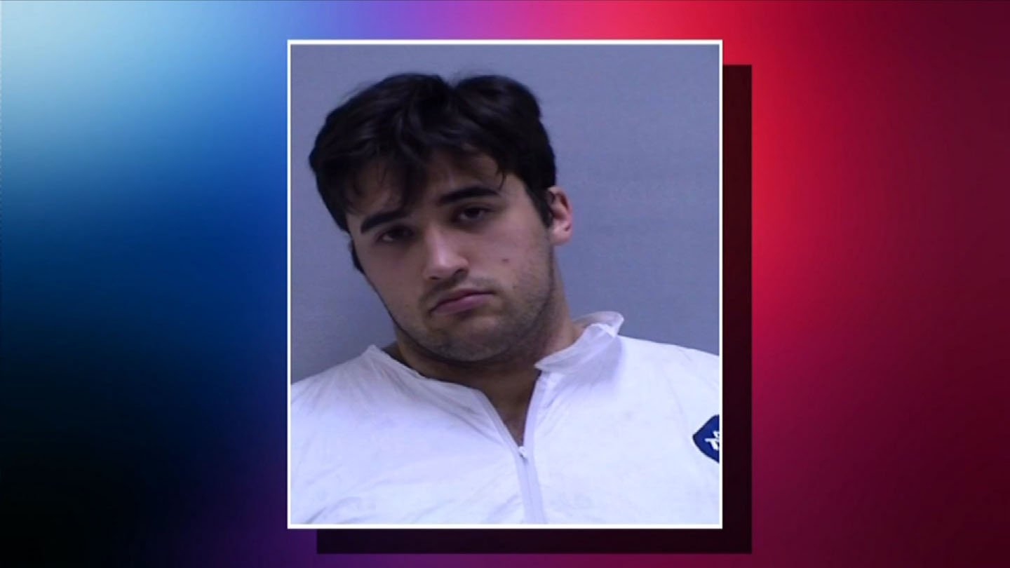 Timothy Granata was scheduled to face a judge on Friday, accused of killing his mother. (Orange police photo)