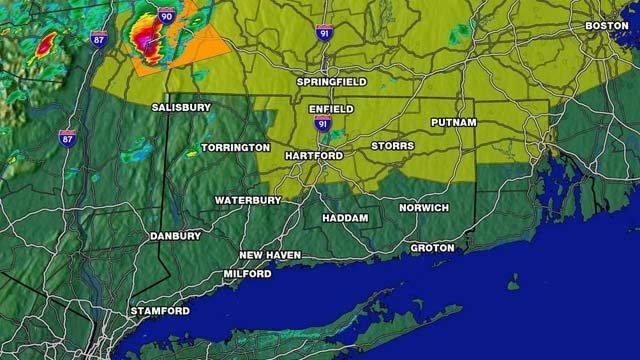 A look at Monday afternoon's storms.