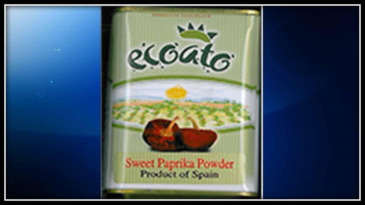 "TJX Companies recalled ""ecoato"" Sweet Paprika Powder. (TJX photo)"