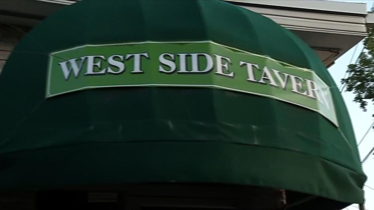 Trueworthy continued his tirade at the West Side Tavern, according to police. (WFSB photo)