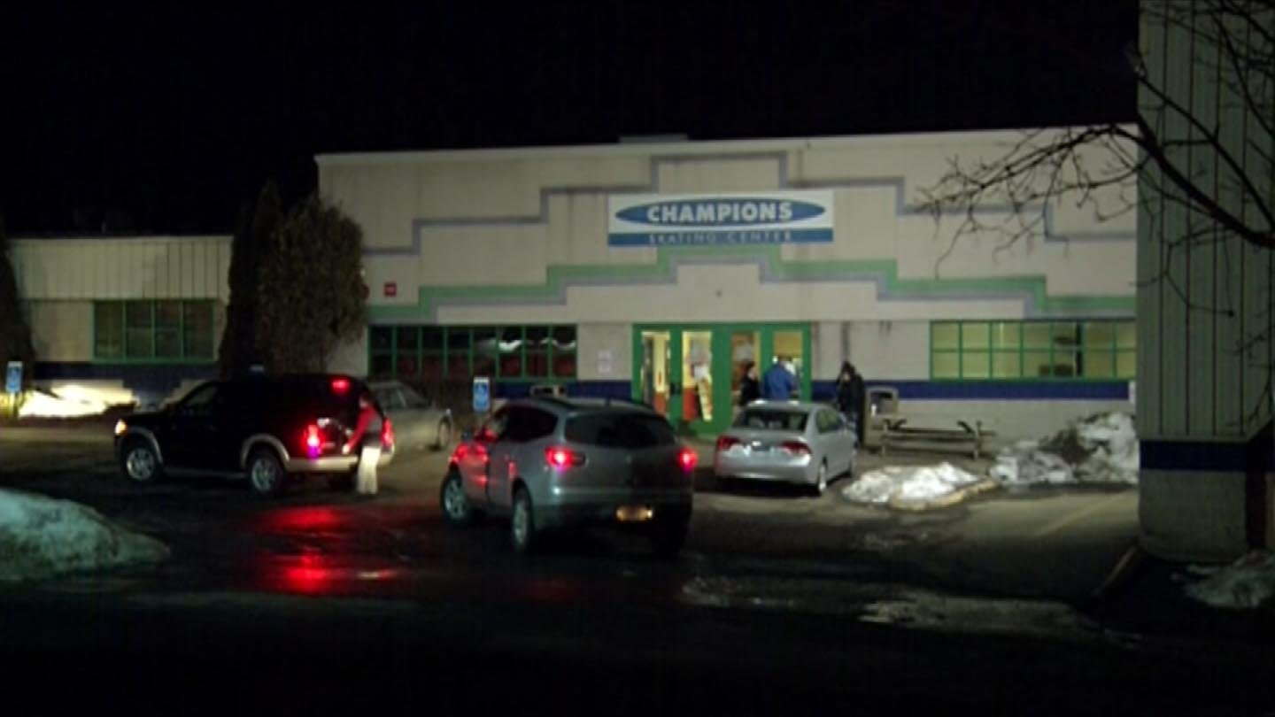 The alleged incident took place at the Champions Skating Center in Cromwell. (WFSB file photo)