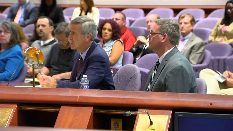 Kenneth Ireland's hearing began Tuesday morning in Hartford. (WFSB photo)
