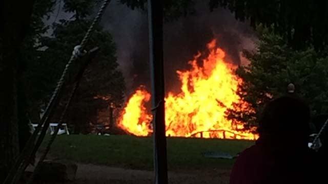 Cabins Damaged During 39 Club Getaway 39 Fire In Kent Wfsb 3