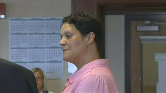 Tanya Singleton at a previous court appearance. (CBS photo)