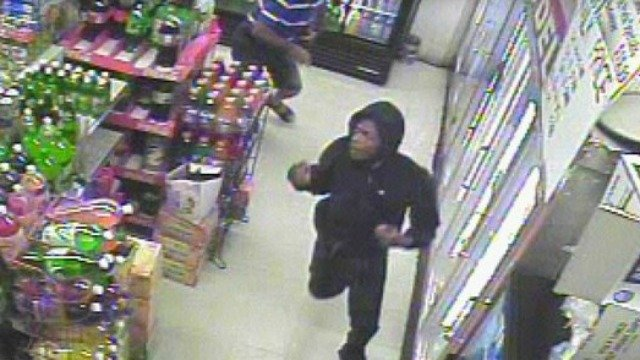 Surveillance photo of suspect in Stratford armed robbery