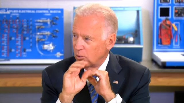 U.S. Vice President Joe Biden came to Connecticut on Wednesday.