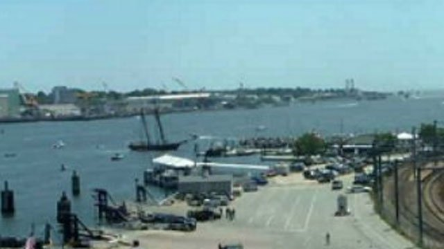 The Freedom Schooner Amistad arrived at Sailfest in New London on July 12 (WFSB file photo)