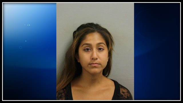 Mug shot of Kelsey James provided by Bristol Police