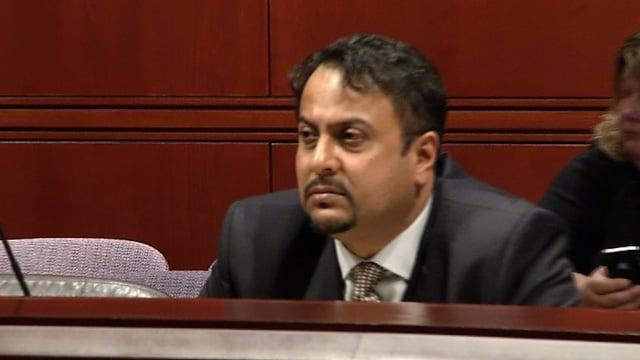 Dr. Rashmi Patel was denied a reinstatement of his license on Wednesday. (WFSB photo).