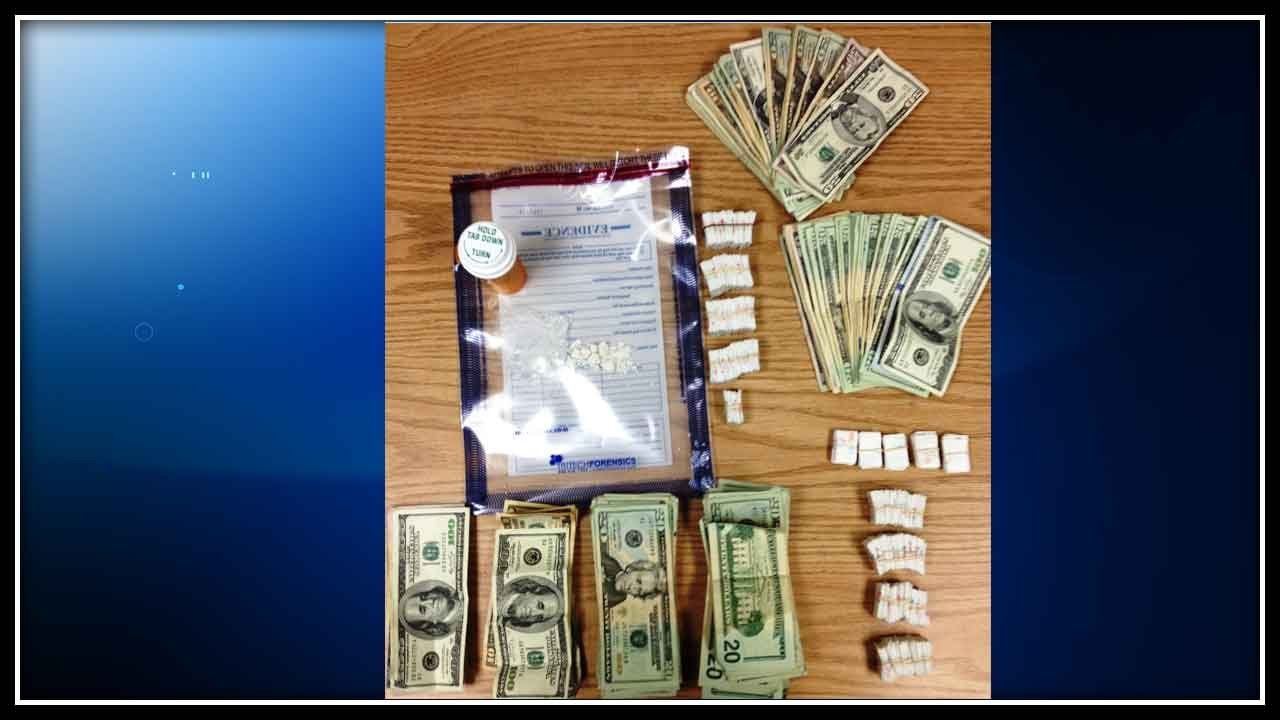 Police seized 463 bags of heroin, three grams of crack cocaine as well as $4,348.
