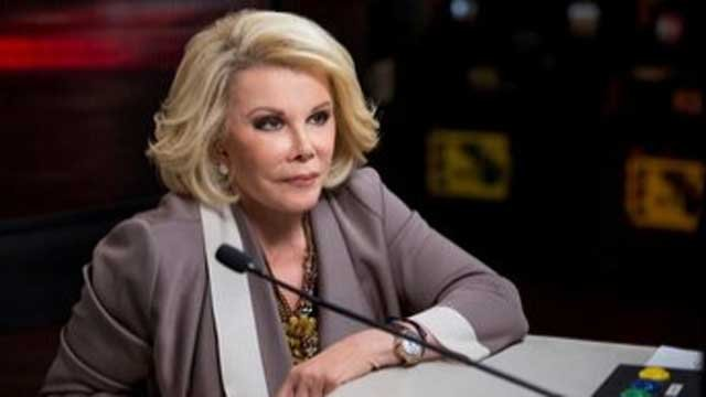 "Joan Rivers appears on TBS game show 'Deal with It."" (CNN Wire)"