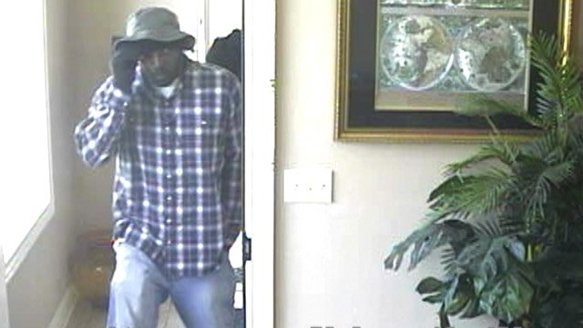 A surveillance photo of one of the suspects police said robbed a credit union in West Haven. (West Haven police photo)