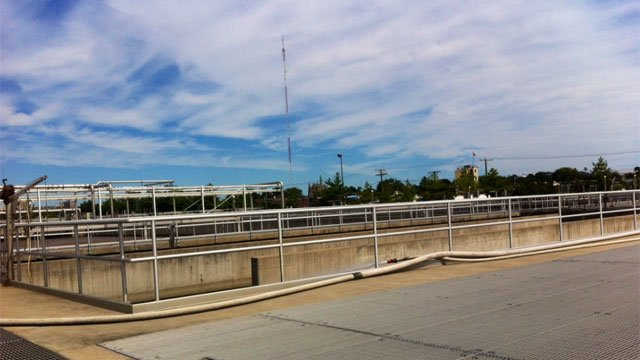 A worker discovered a 5-6-month-old fetus at sewage treatment plant in Stamford. (WFSB photo)