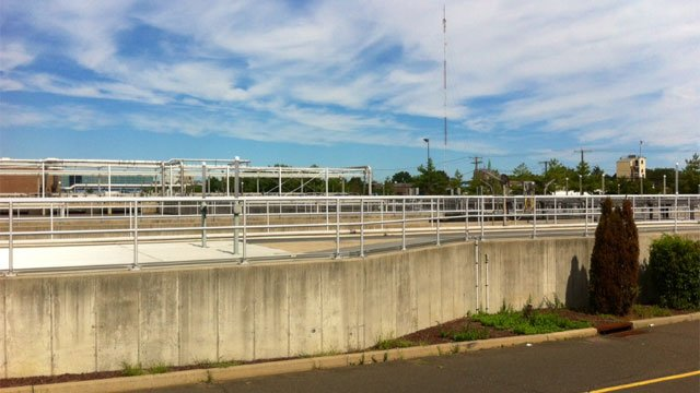 The discovery of a fetus was made at this waste water treatment facility over the weekend. (WFSB photo)